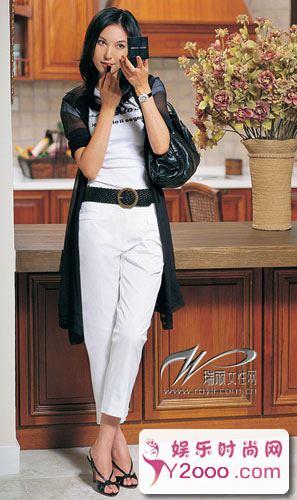 黑白搭配衣服怎样穿好看图片_Y2OOO.COM第2张