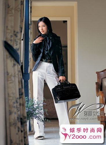 黑白搭配衣服怎样穿好看图片_Y2OOO.COM第1张