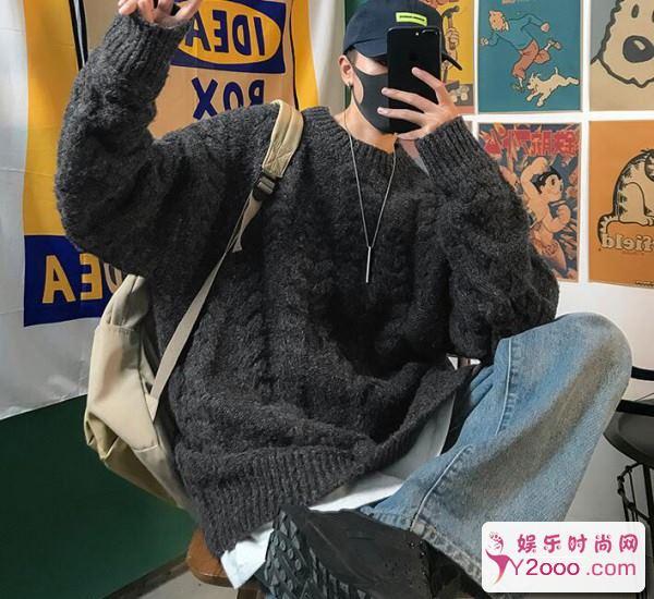 怎么样才能将毛衣穿出时尚感男生_m.y2ooo.com