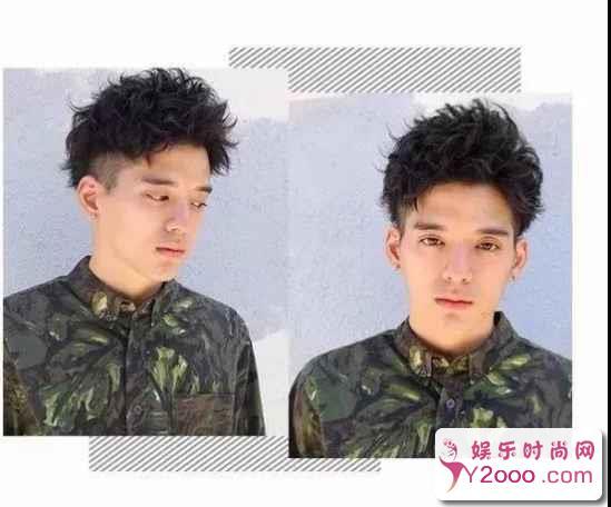 瓜子脸最适合什么发型男生_Y2OOO.COM第1张