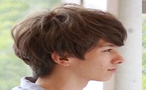 男生波波头发型图片 卷发也能清新可爱