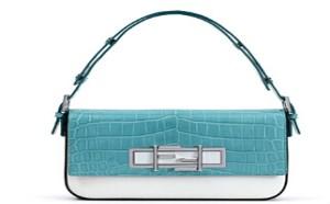 2015早春系列全新芬迪Fendi 3Baguette手袋包包