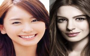 美丽杂谈:女星对比示范 日系美式妆容大不同