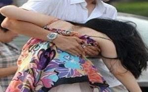 社会百态邪恶图片:性侵拍照炫耀