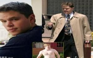 影视音乐:马特-达蒙为了新角色吃胖14公斤,拼命增肥