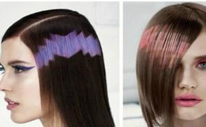 超流行发型像素化染发 给头发打上马赛克