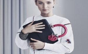 Jennifer Lawrence代言迪奥Dior 2015时尚包包