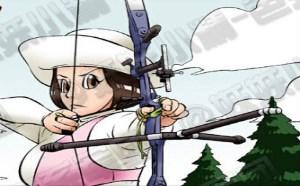 不知火舞邪恶漫画集:用心射箭