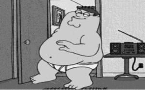 搞笑动态图片笑死人:据说这是胖子特有的示爱方式