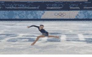 社会百态邪恶图片:妹纸溜冰太疯狂了,根本停不下来
