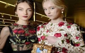 美丽得现大牌包包Dolce Gabanna玫瑰系列手袋