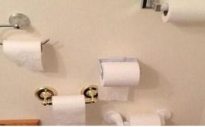 搞笑动态图片笑死人:再也不怕没有纸了