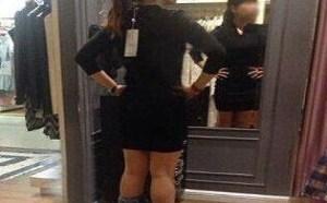 另类gif你懂的:妹子买条裙子也是蛮拼的