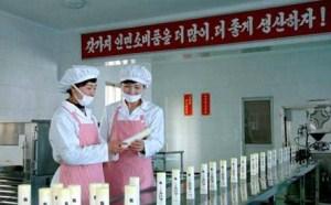 朝鲜正努力研发化妆品和生产世界一流水平的高档化妆品