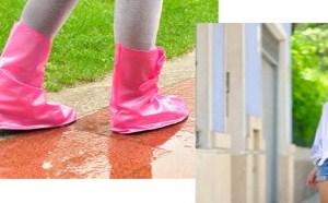 下雨天了怎么办?好想出门又怕鞋子湿,拖鞋太丑鞋套太滑!