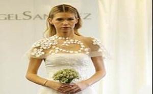 新娘在婚礼上如果穿了一双出彩的鞋子,马上就能为整体的气质加分
