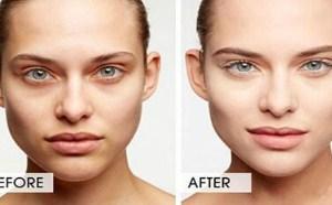 化妆教程图解再一次教大家利用遮瑕产品遮盖黑眼圈