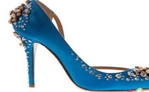 一对好看的婚鞋让你的新娘造型更加完美