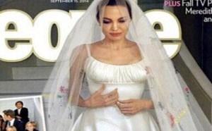 重新回顾一下,韩思哲鲜为人知的婚纱礼服究竟是怎样的。