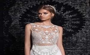 充满轻盈感与轻松别致的新季婚纱礼服。