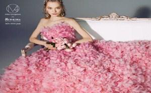 缤纷烂漫的婚纱礼服,绝对不会让粉丝们失望!