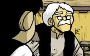 不知火舞邪恶漫画集:好聪明机智的爷爷