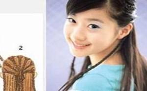 推荐三款青春靓丽可爱的少女DIY发型