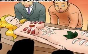 不知火舞邪恶漫画集:日本流行赤裸裸的美女人体宴