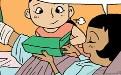妖妖小精色漫画:学长这下完了,比他那根粗壮得多