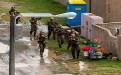 """美军模拟演练进入朝鲜境内 清理""""定居点"""""""