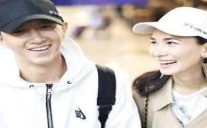 卢靖姗和韩庚比疑结婚 女方无名指上的钻戒不见了